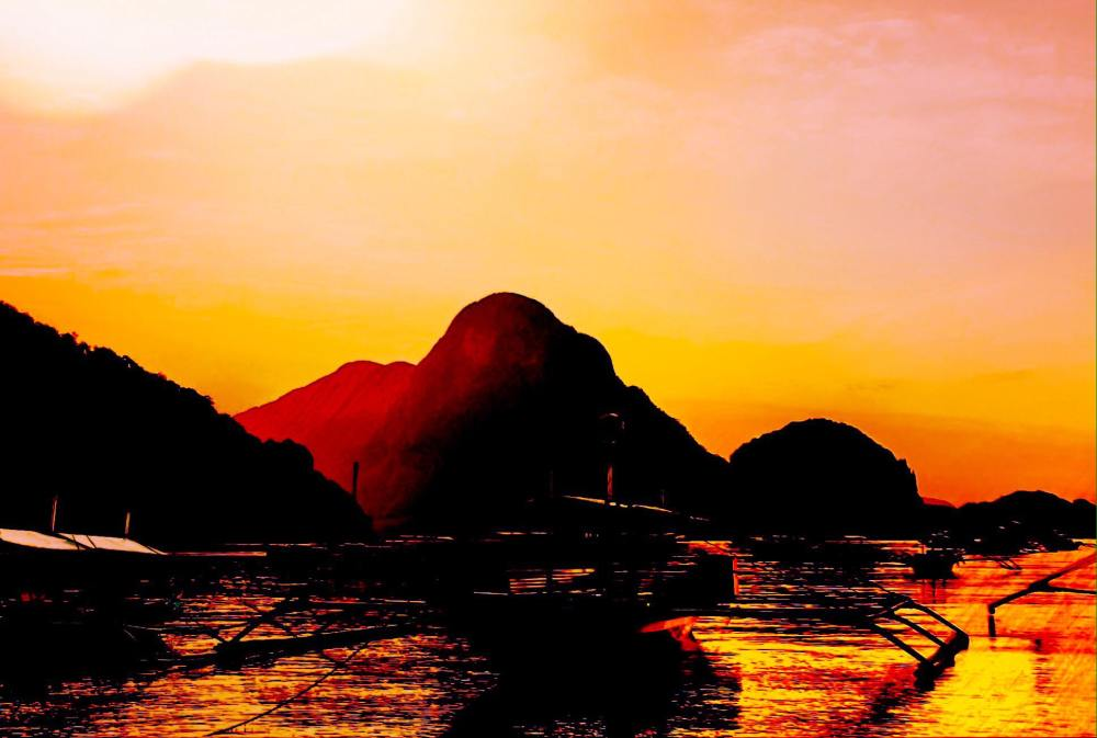 Sunset Beach l El Nido, Palawan l 27June2015