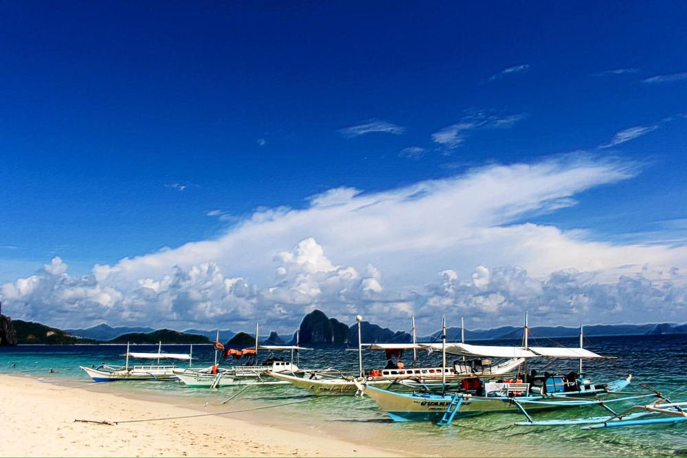 Seven Commandos Island, EL Nido Beach, Palawan
